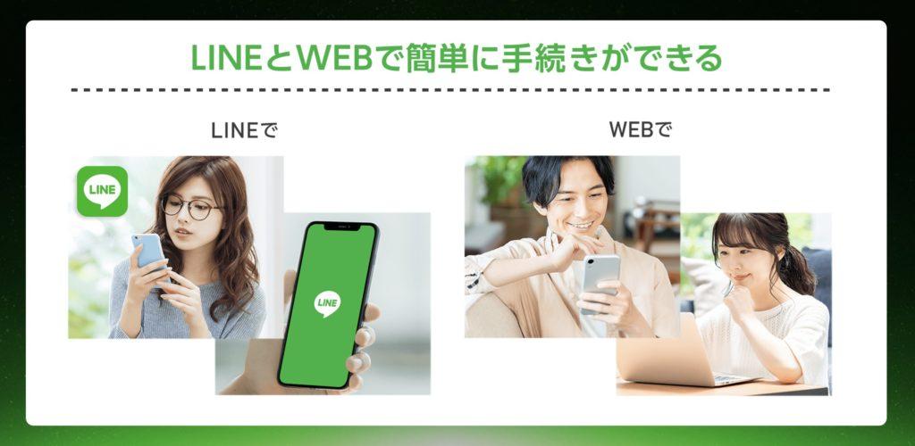 SoftbankonLINE_手続きはオンライン